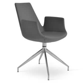 Grey PPM Leatherette