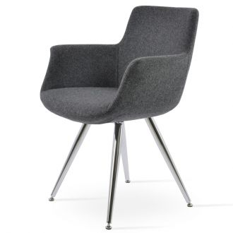 Dark Grey Wool (Camira - CUZ30)