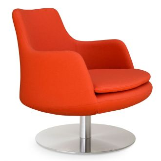 Orange Camira Wool - CUZ39