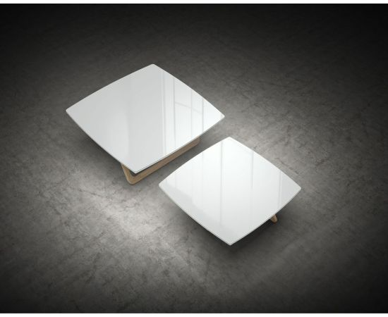 White Glass and Natural